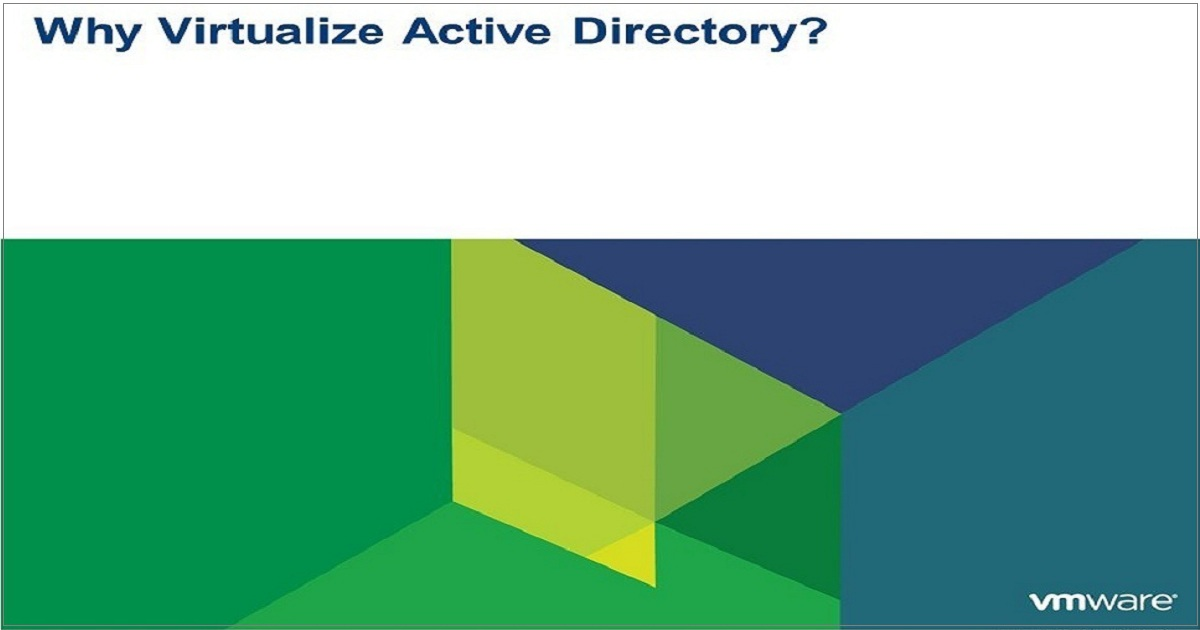 Virtualizing Active Directory: Six best practices for domain controllers - Veeam webinar