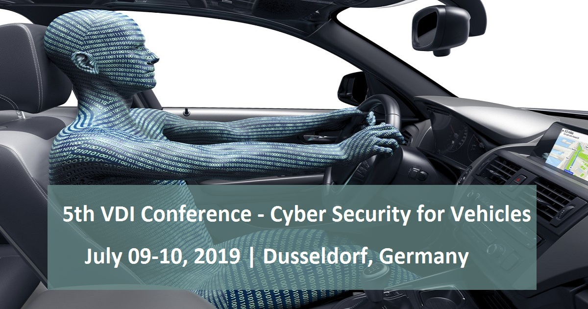 5th VDI Conference - Cyber Security for Vehicles