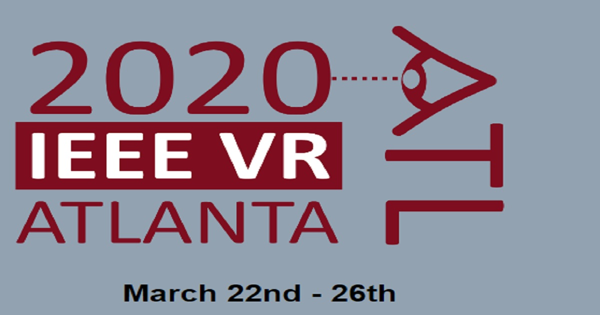 IEEE VR 2020: the 27th IEEE Conference on Virtual Reality and 3D User Interfaces