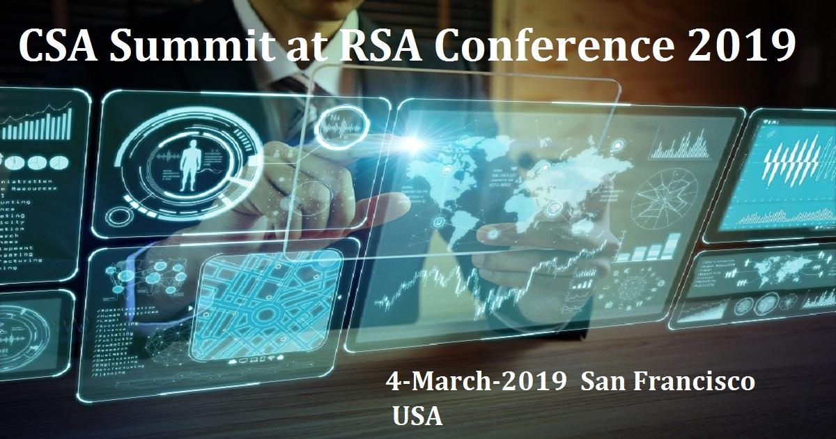 CSA Summit at RSA Conference 2019