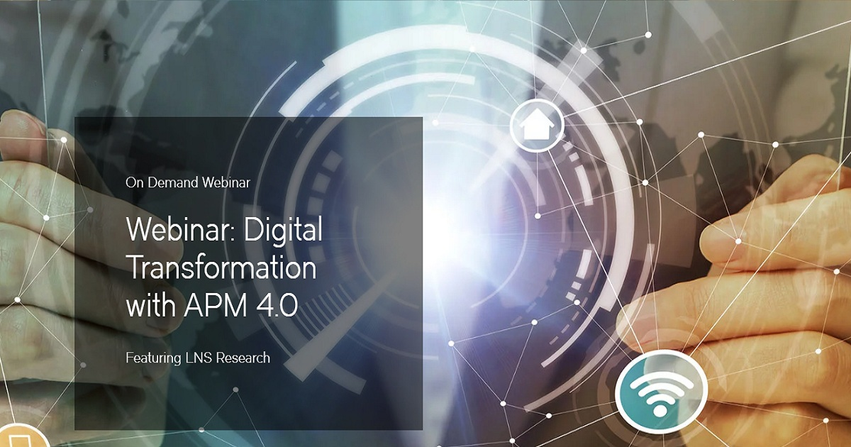 Digital Transformation with APM 4.0