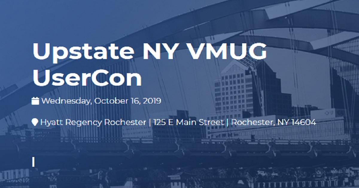 Upstate NY VMUG UserCon