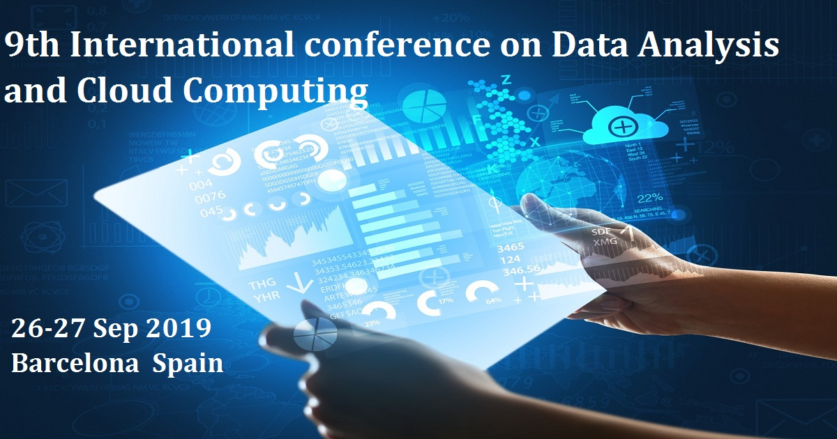 9th International conference on Data Analysis and Cloud Computing