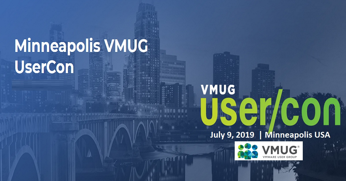 Minneapolis VMUG UserCon