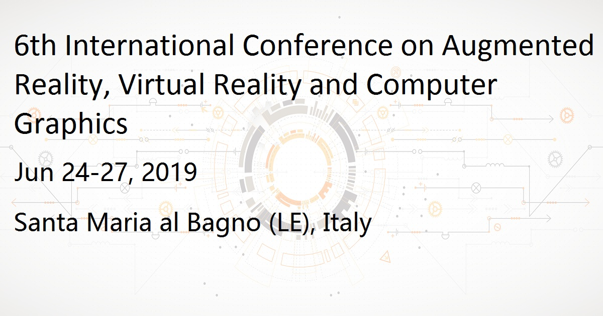 6th International Conference on Augmented Reality, Virtual Reality and Computer Graphics