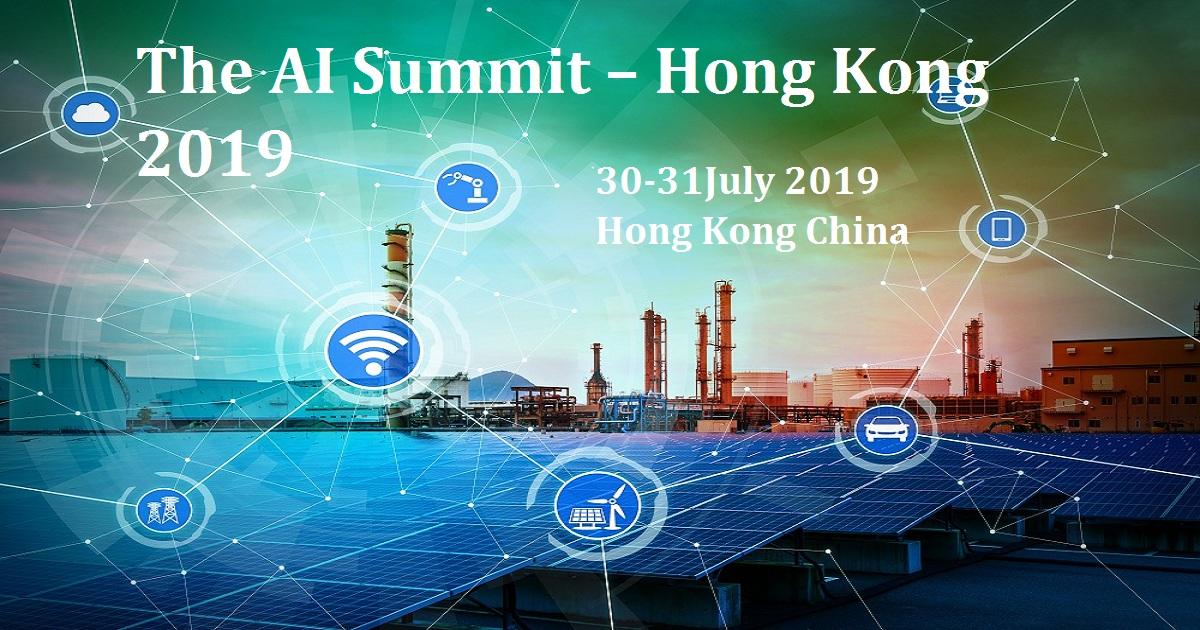 The AI Summit – Hong Kong 2019