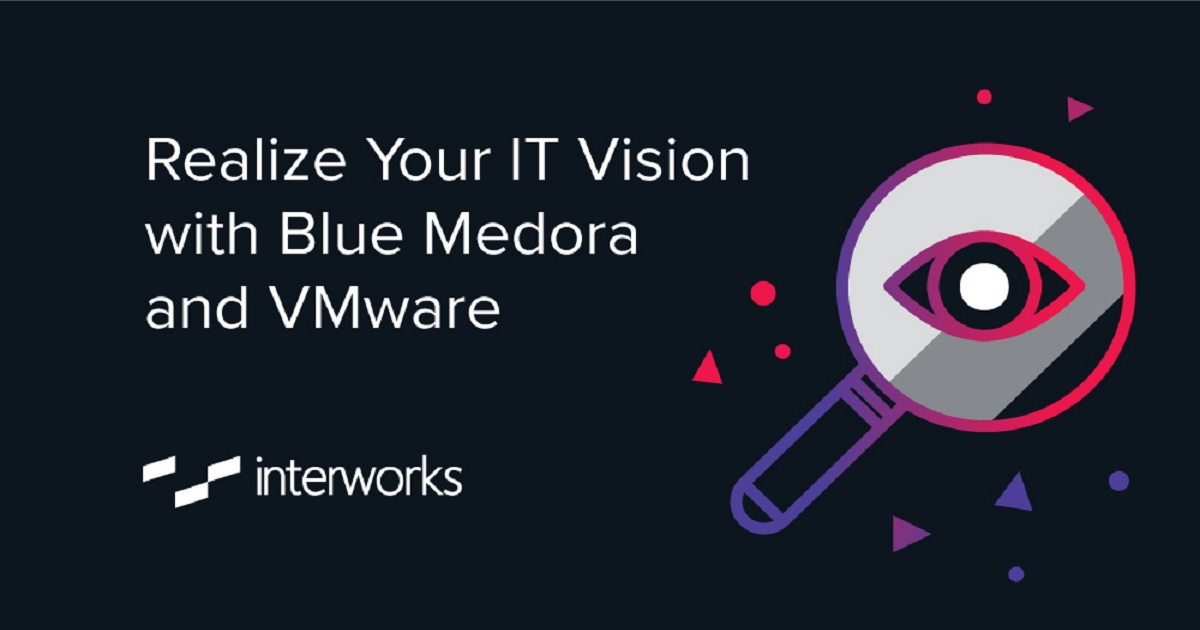 Realize Your IT Vision with Blue Medora and VMware