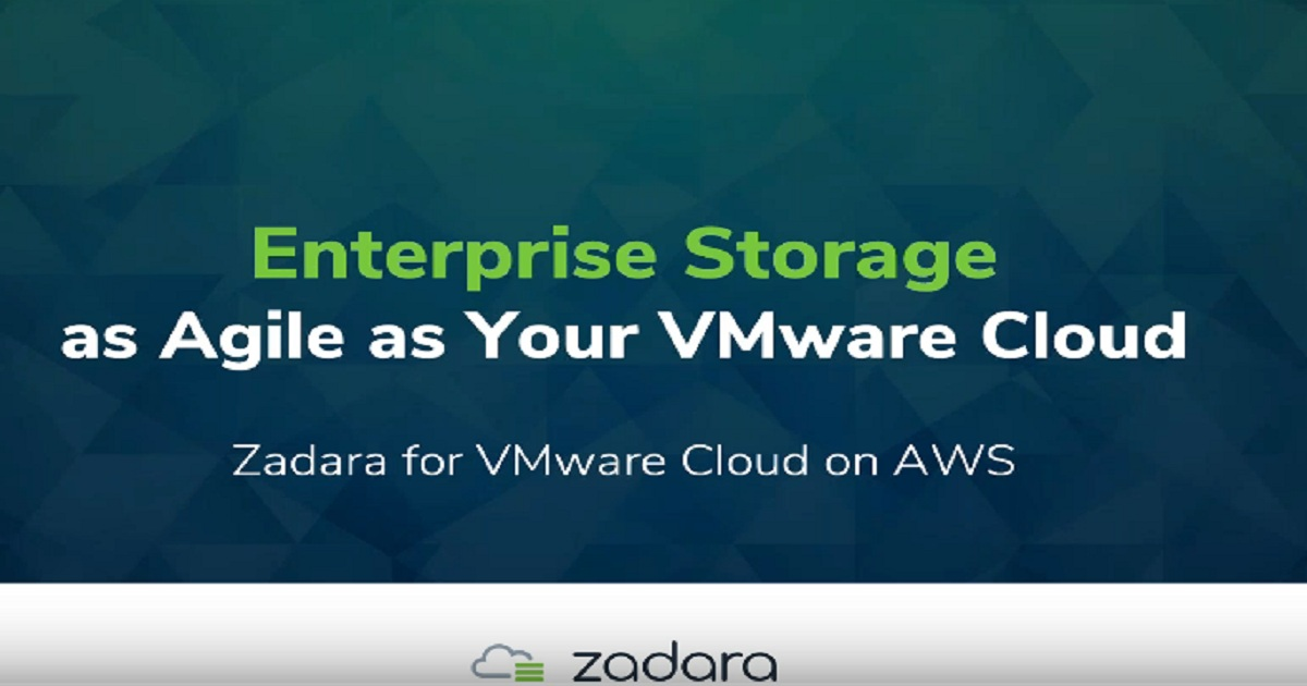 Storage Strategies for VMware Cloud on AWS