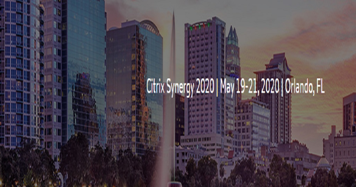 Citrix Synergy 2020