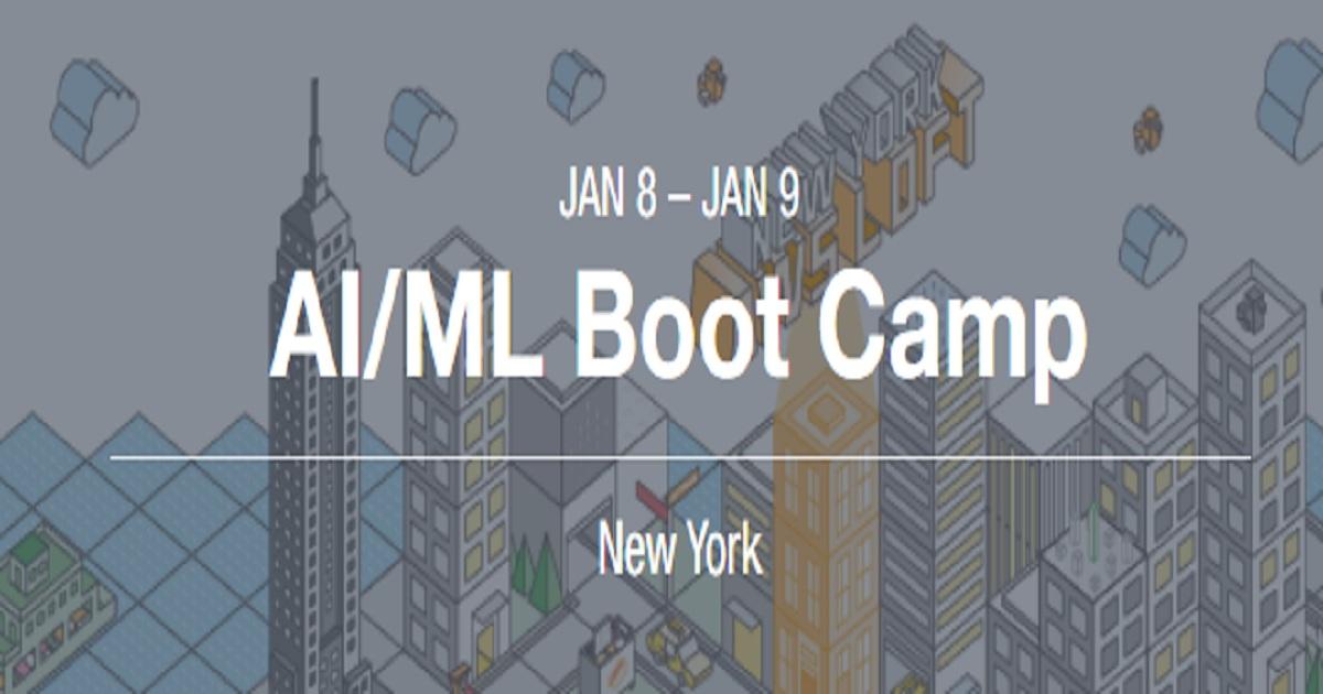 AI/ML Boot Camp