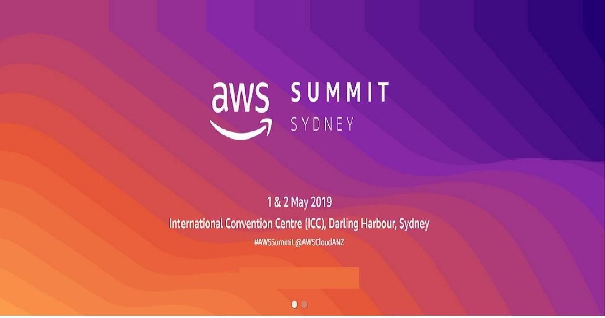 AWS Summit Sydney Series 2019