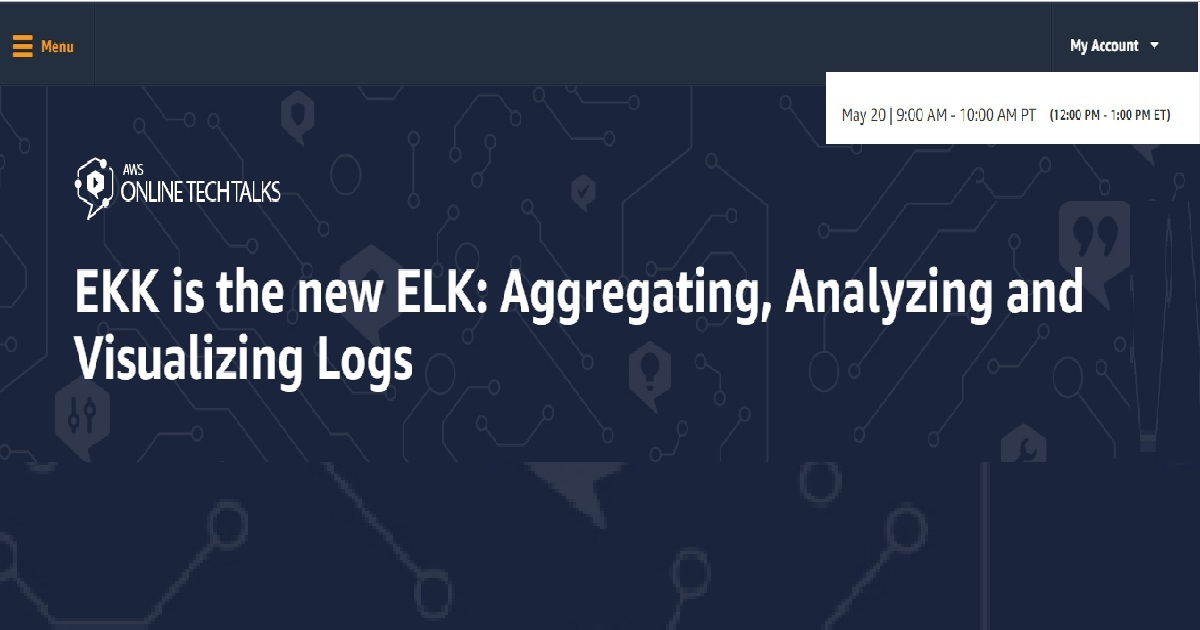Ekk is the new elk aggregating, analyzing and visualizing logs