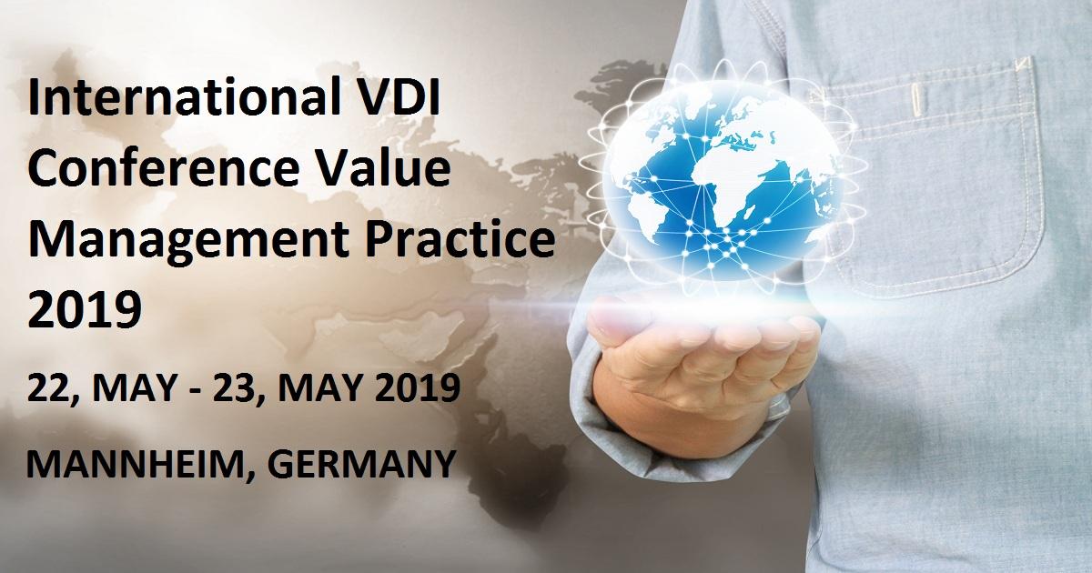International VDI Conference Value Management Practice 2019