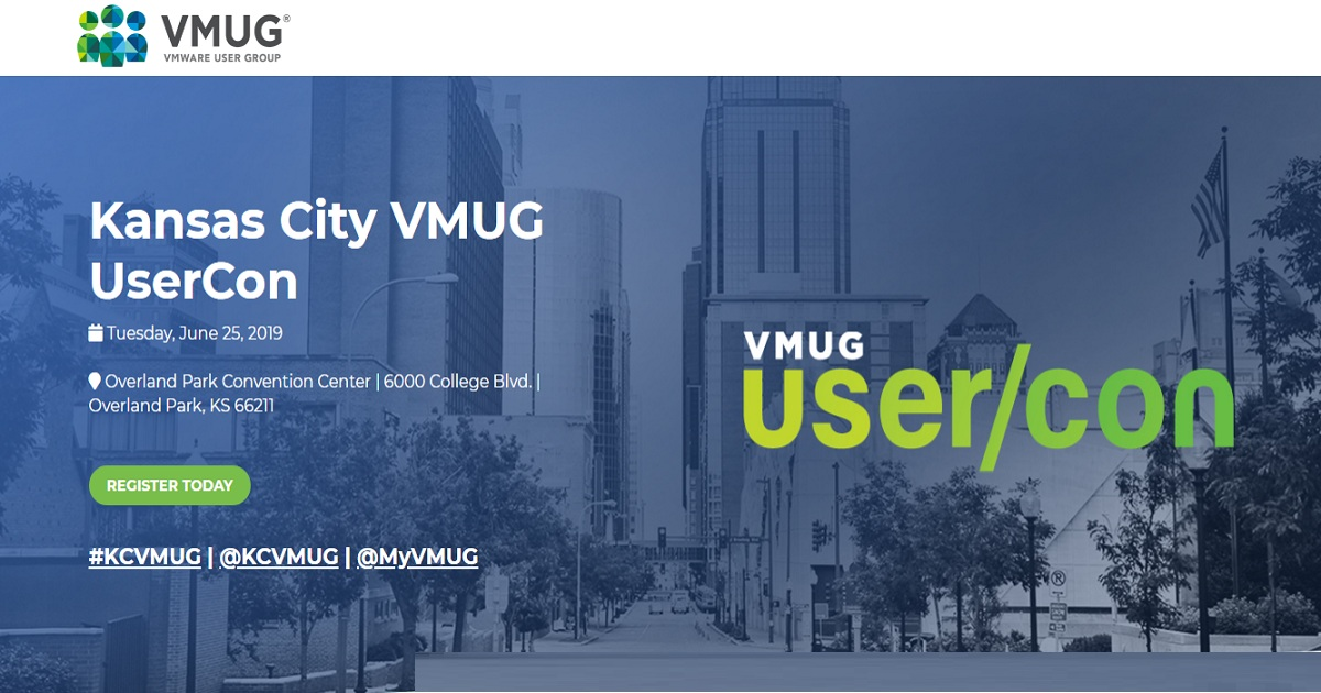 VMUG UserCon Kansas City