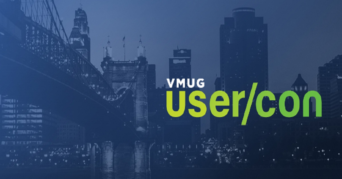 Cincinnati VMUG User Con