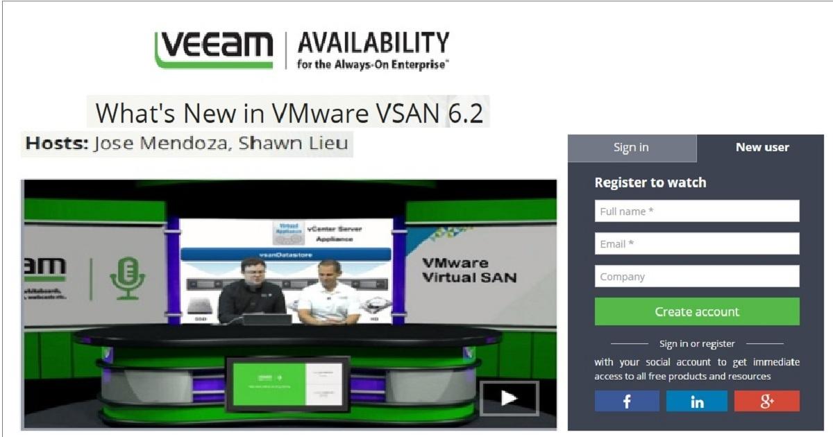 What's New in VMware VSAN 6.2