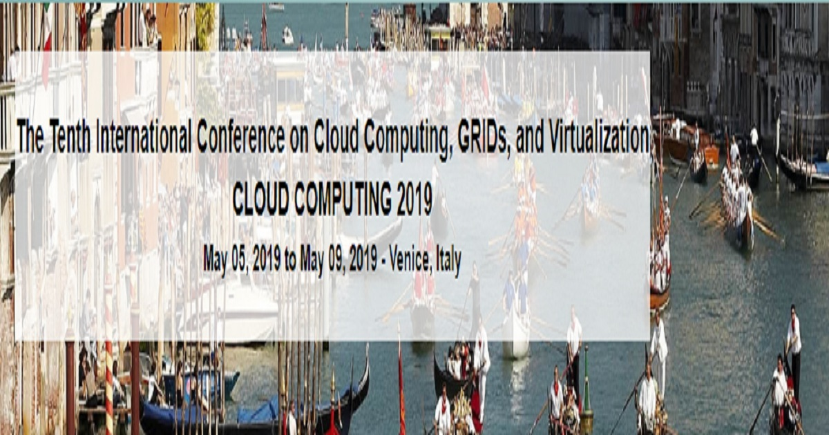 The Tenth International Conference on Cloud Computing, GRIDs, and Virtualization