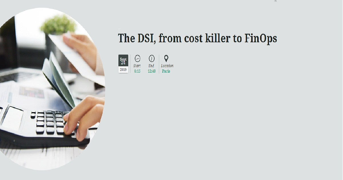 The DSI, from cost killer to FinOps