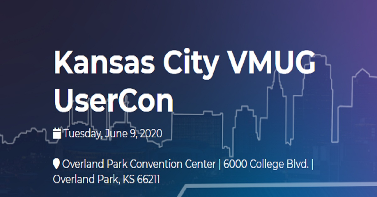 Kansas City VMUG UserCon
