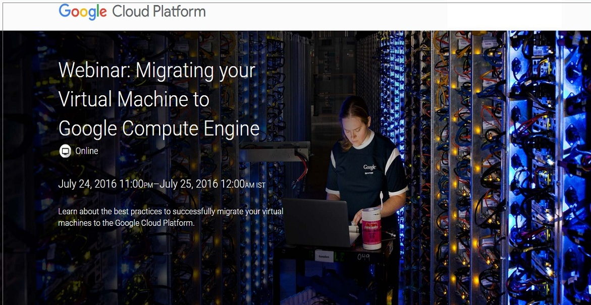 Migrating your Virtual Machine to Google Compute Engine