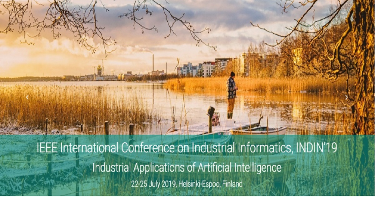 2019 IEEE 17th International Conference on Industrial Informatics