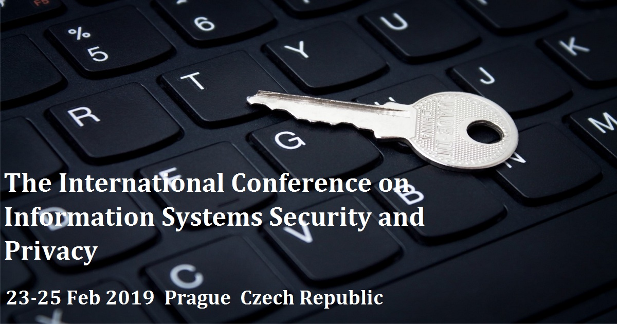 The International Conference on Information Systems Security and Privacy