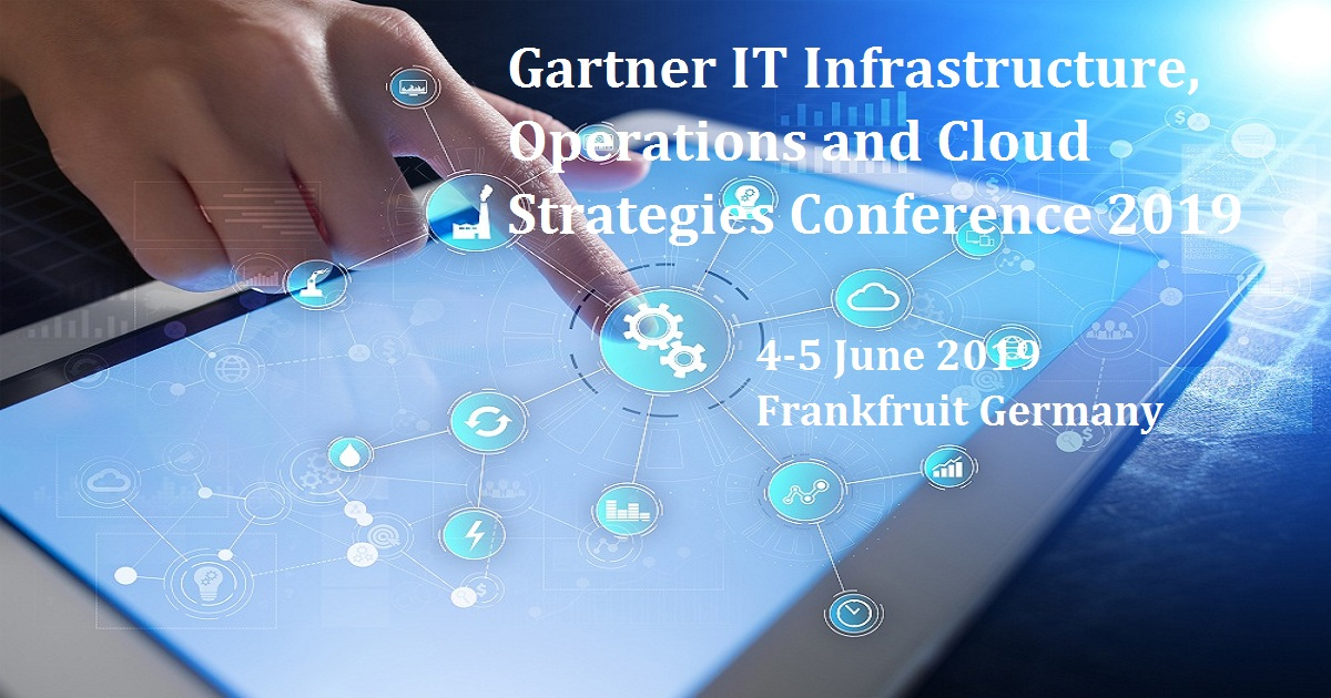 Gartner IT Infrastructure, Operations and Cloud Strategies Conference 2019