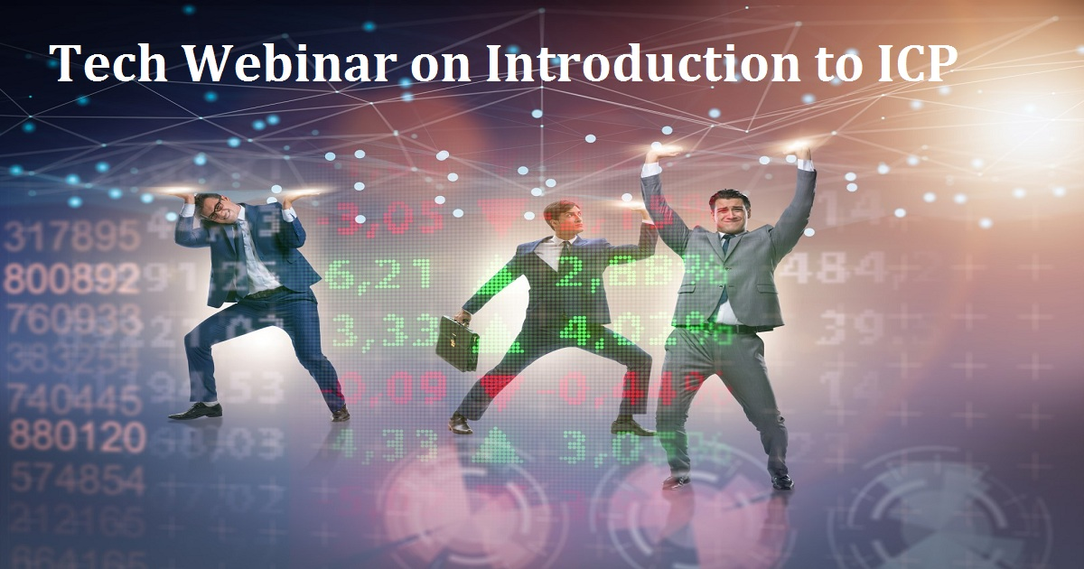 Tech Webinar on Introduction to ICP