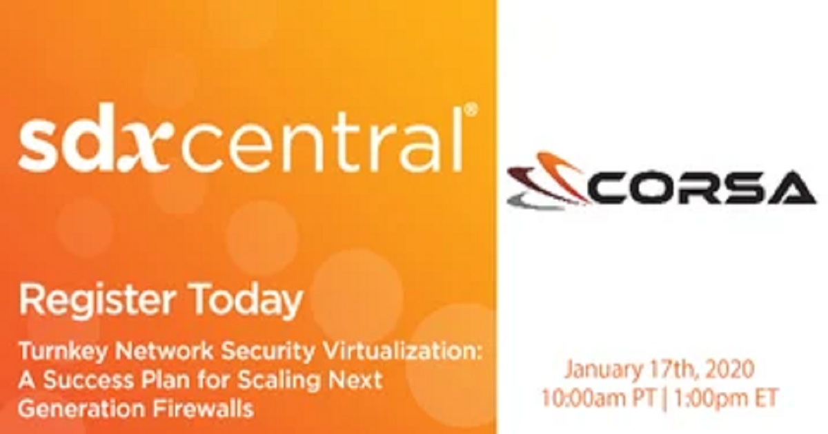 Turnkey Network Security Virtualization: A Success Plan for Scaling Next Generation Firewalls