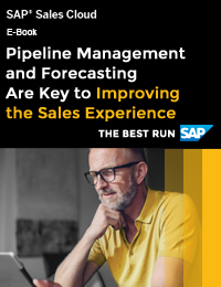 PIPELINE MANAGEMENT AND FORECASTING ARE KEY TO IMPROVING THE SALES EXPERIENCE