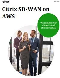 CITRIX SD-WAN ON AWS