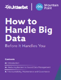 HOW TO HANDLE BIG DATA