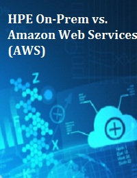HPE ON-PREM VS. AMAZON WEB SERVICES (AWS)