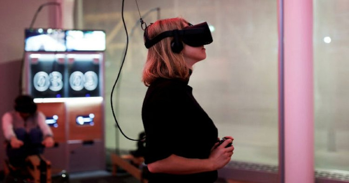 VIRTUAL REALITY MAY HELP TREAT AUTISM, PARKINSON'S