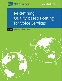 RE DEFINING QUALITY BASED ROUTING FOR VOICE SERVICES