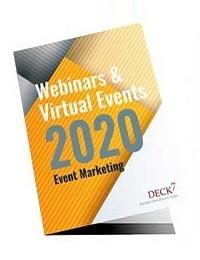 DECK 7 WEBINARS AND VIRTUAL EVENTS