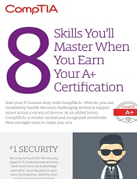 SKILLSYOU'LL MASTER WHEN YOU EARN YOUR A+ CERTIFICATION