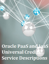 ORACLE PAAS AND IAAS UNIVERSAL CREDITS