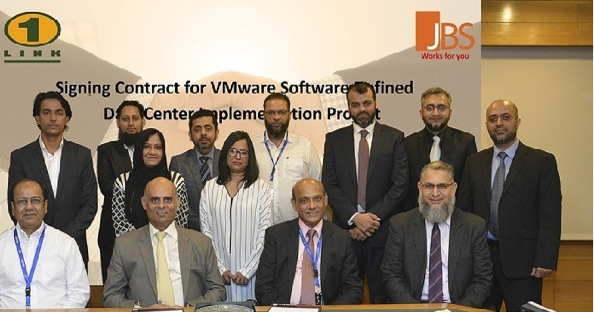 JBS & 1LINK SIGN CONTRACT FOR VMWARE BASED SDDC