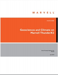 GEOSCIENCES AND CLIMATE ON MARVELL THUNDERX2